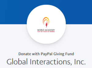 PayPal Giving Fund Donation
